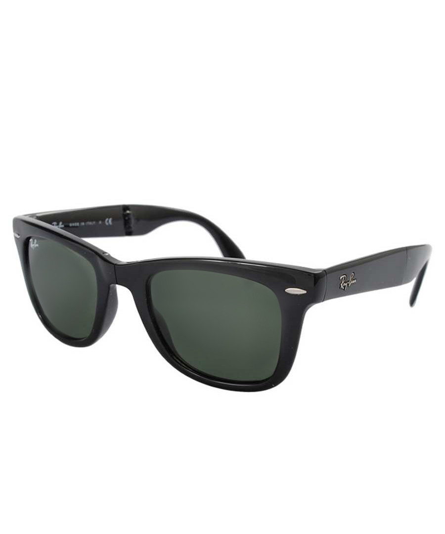 Ray - Ban Wayfarer black folding sunglasses , Designer Accessories Sale