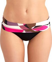 Athens pink folded bikini briefs