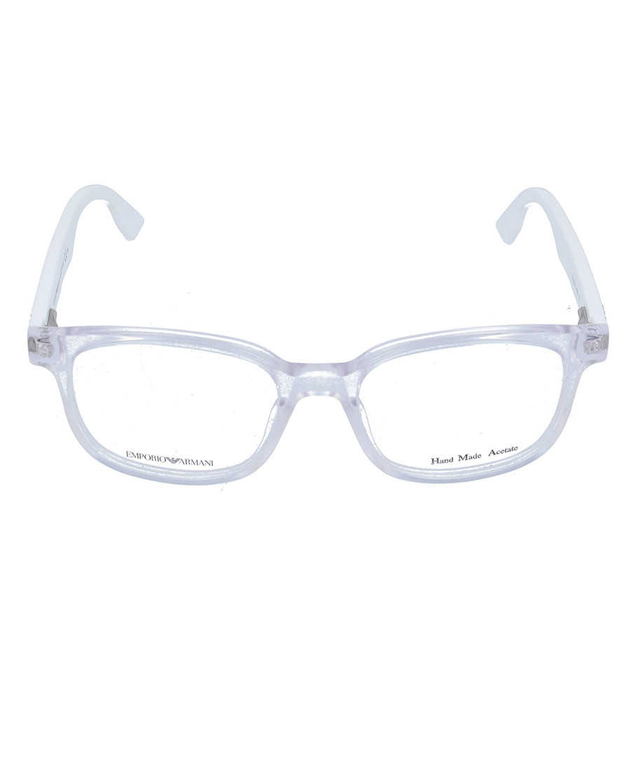 Armani Glasses Frames White : Emporio Armani White square frames, Designer Accessories ...