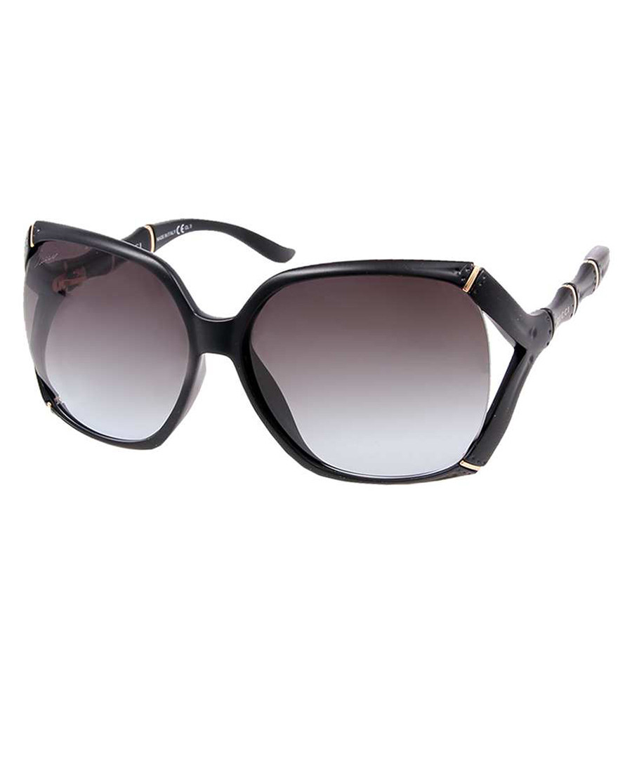 Gucci Black bamboo detail sunglasses, Designer Accessories ...
