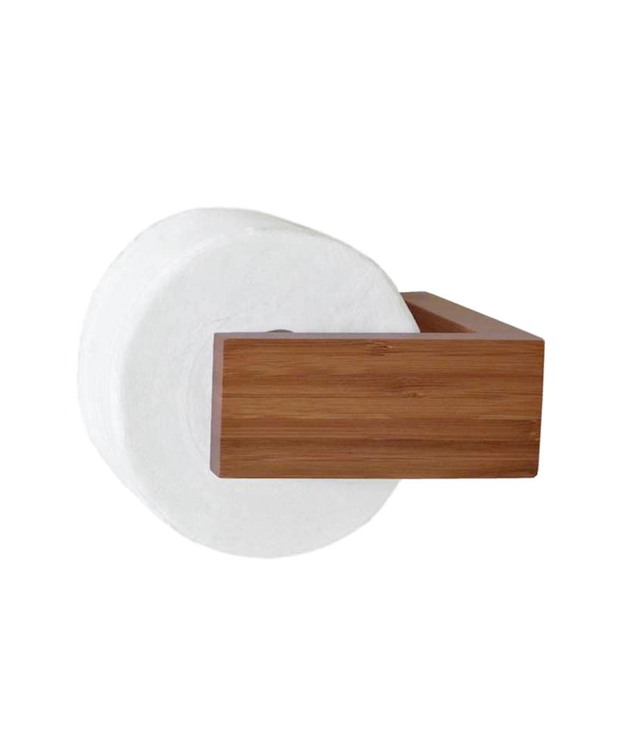 Wireworks bamboo toilet roll holder designer homeware for Bathroom fittings for sale