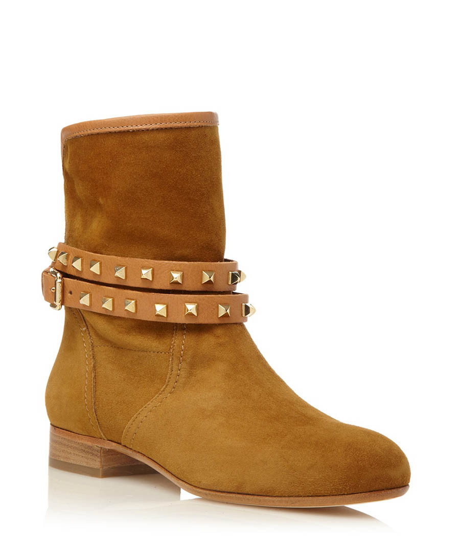 pied a terre odelia suede ankle boots designer