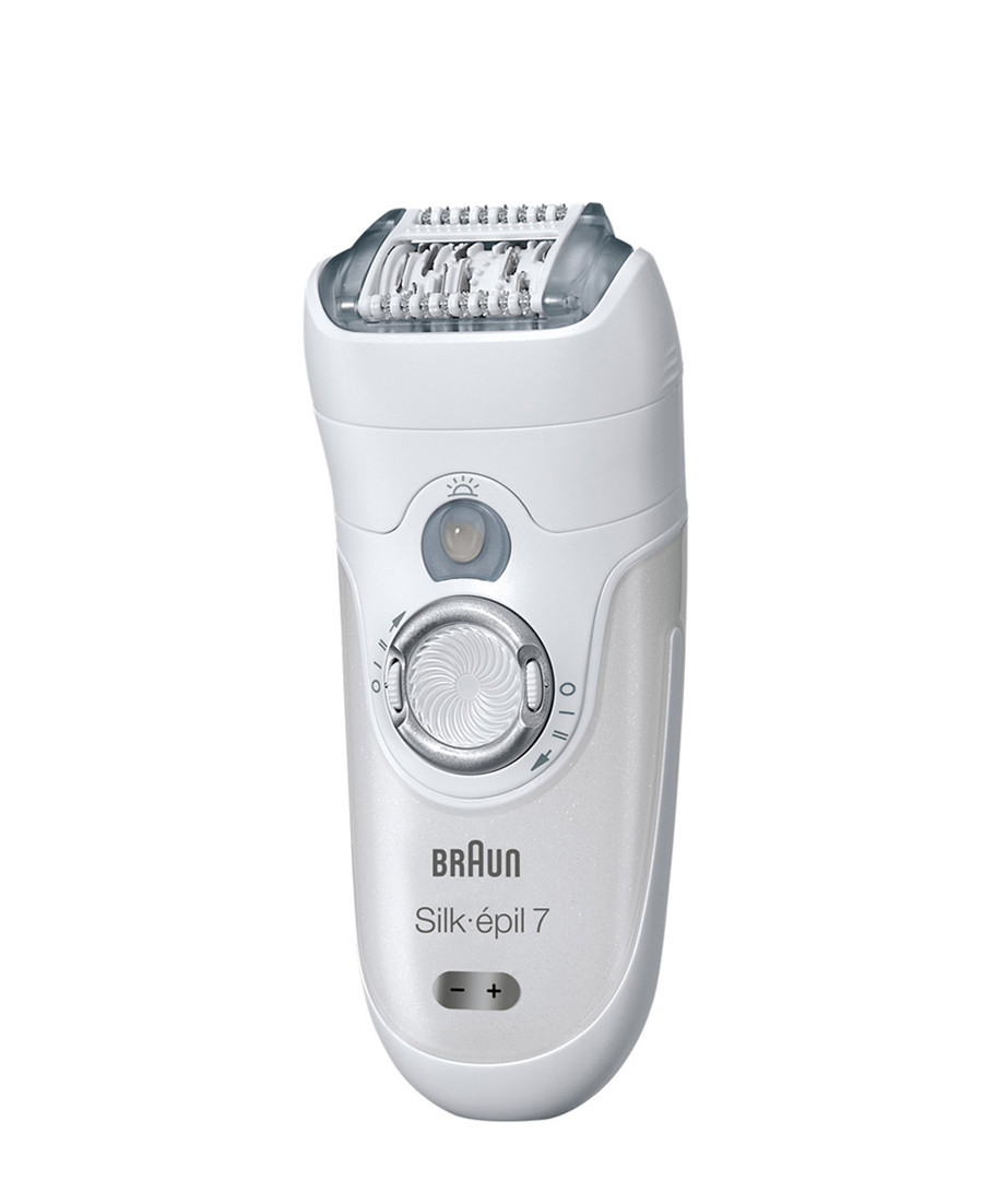 braun silk epil 7 7681wd epilator designer beauty sale. Black Bedroom Furniture Sets. Home Design Ideas