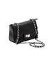 Black leather cross body bag Sale - Roberta M. Sale