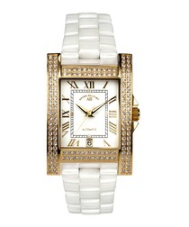 Héra gold-tone & diamond watch
