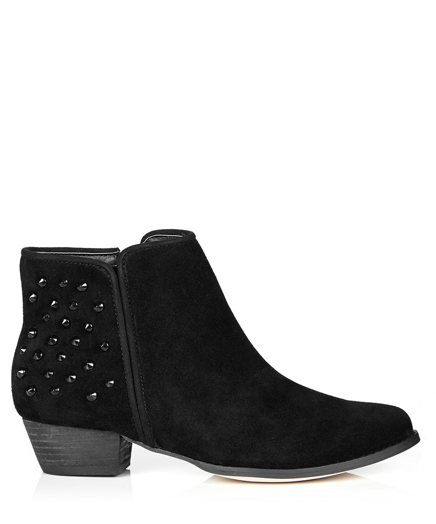 Vince Camuto Drista Ankle Boot Black Suede Silver Studded Chucky Heel Booties. Brand New · Vince Camuto. $ Buy It Now. Free Shipping. + Watching. Dansko Women's Brown Suede Buckle Studded Ankle Boots Size US 11M Euro New (Other) $ Buy It Now. Free Shipping.
