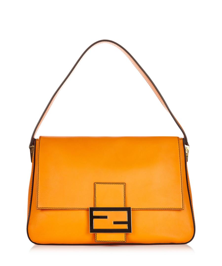 Fendi Big Mama Leather Shoulder Bag 8