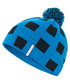 Boy's blue check bobble hat Sale - Trespass Sale