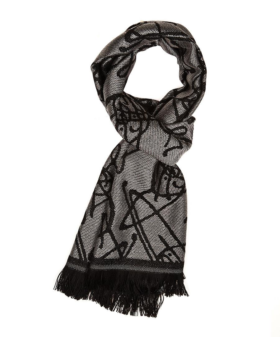 vivienne westwood grey orb scarf designer accessories