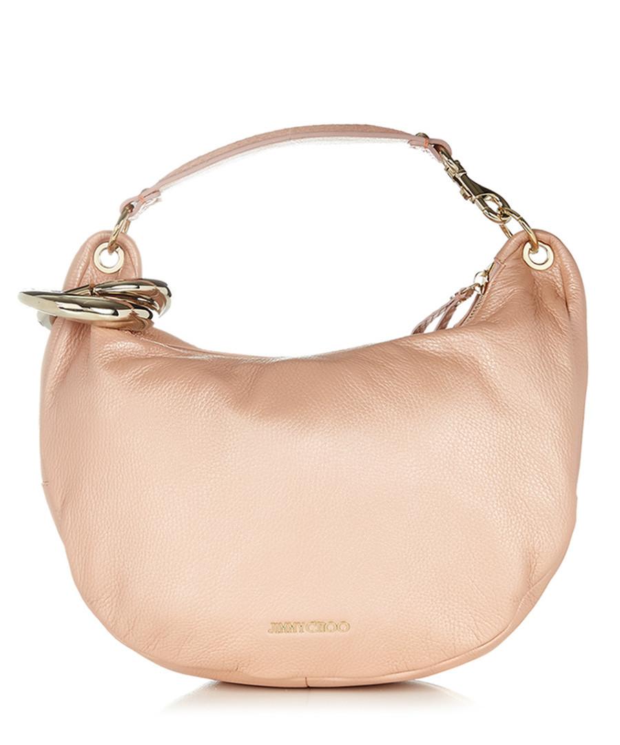 jimmy choo baby pink leather shoulder bag designer bags sale jimmy choo handbags secretsales. Black Bedroom Furniture Sets. Home Design Ideas