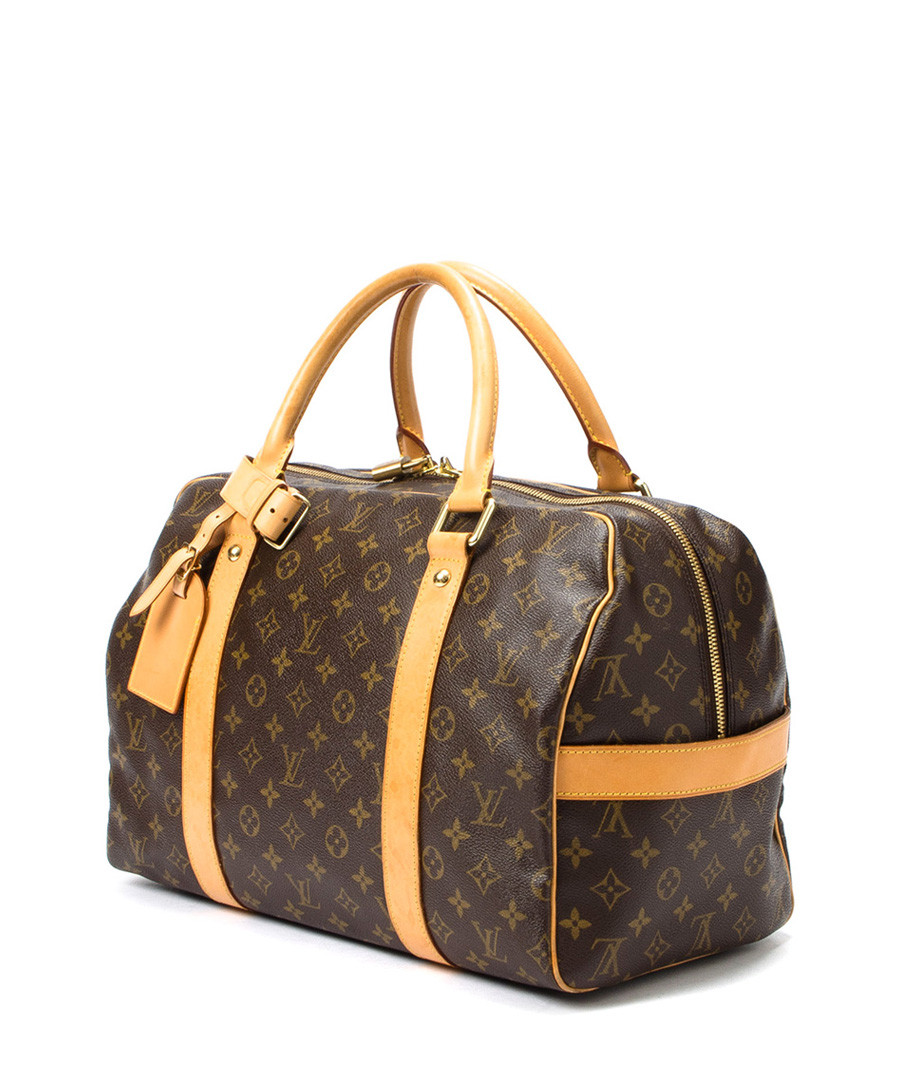 louis vuitton carryall brown monogram grab bag designer bags sale vintage louis vuitton. Black Bedroom Furniture Sets. Home Design Ideas