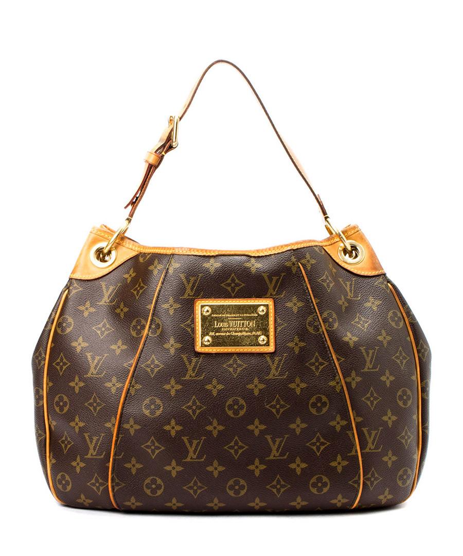 louis vuitton galliera pm brown monogram slouch bag designer bags sale vintage louis vuitton. Black Bedroom Furniture Sets. Home Design Ideas