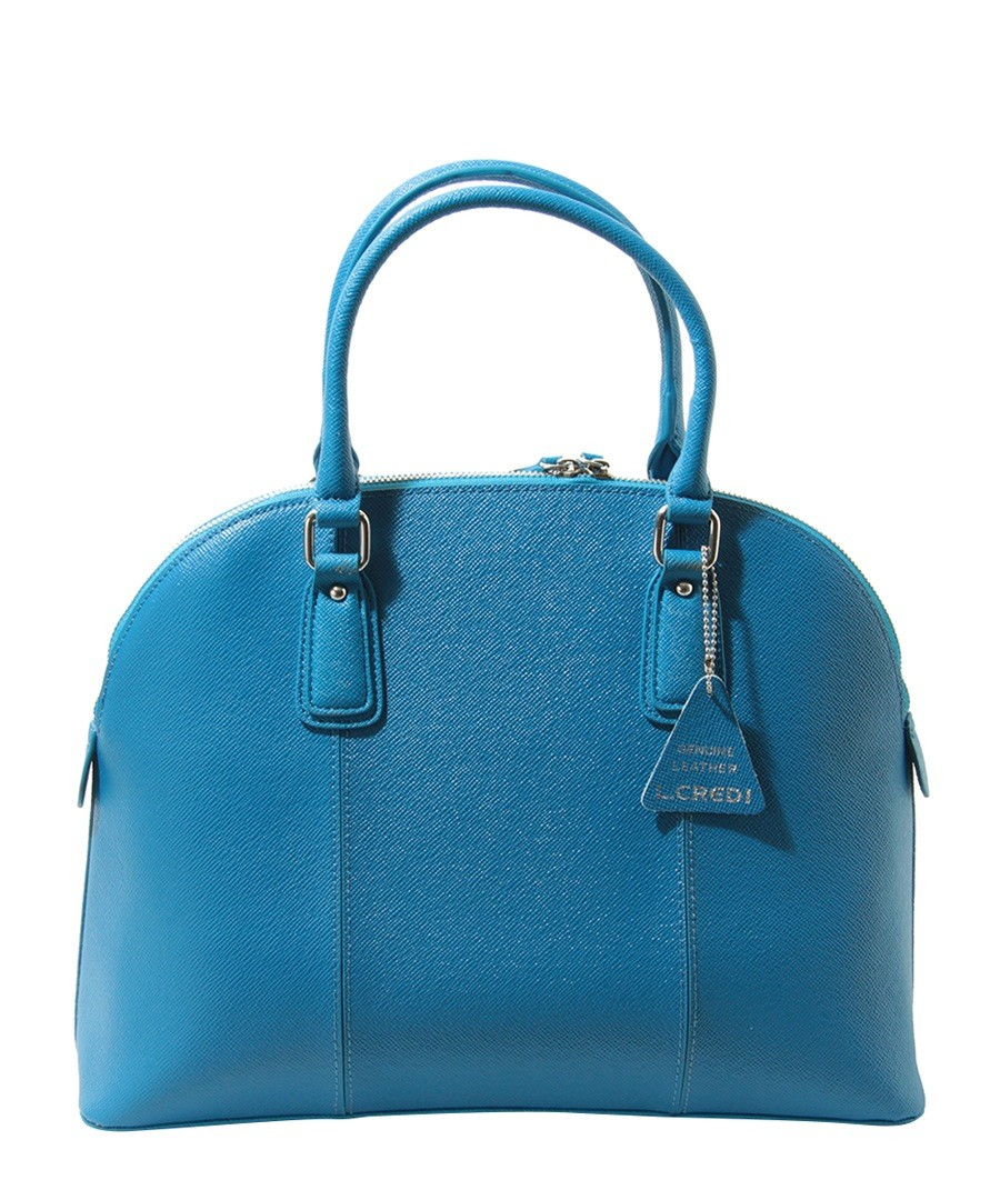Mary royal blue leather handbag Sale - L Credi Sale
