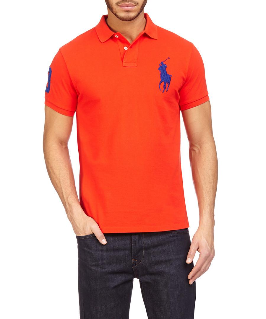 ralph lauren rutgers scarlet polo shirt designer topwear sale ralph. Black Bedroom Furniture Sets. Home Design Ideas