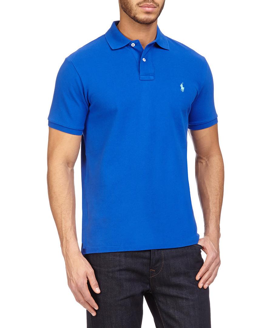 royal blue ralph lauren polo shirt