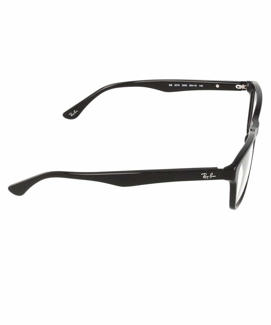 Ray-Ban Large Shiny Black Acetate Frames, Designer