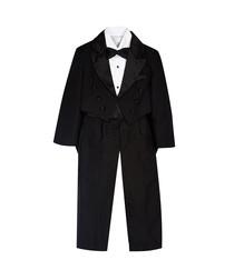 2 5yrs black complete tuxedo suit