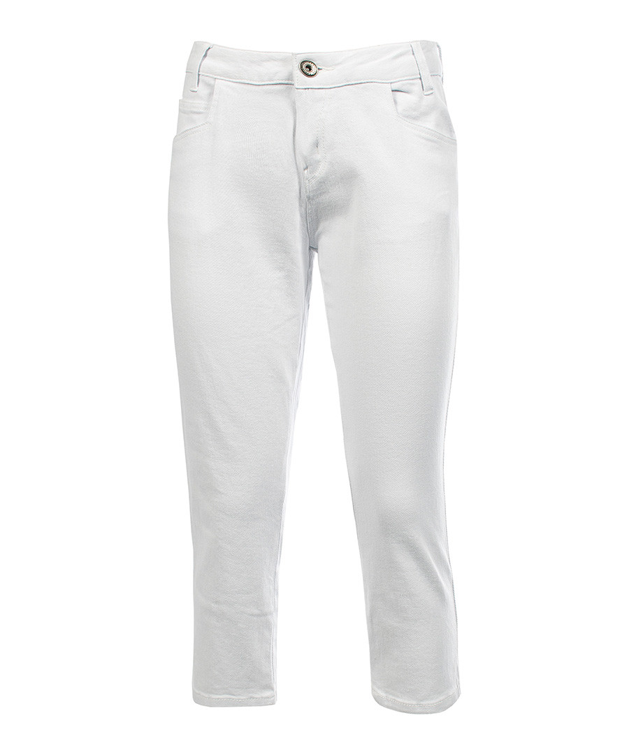 Shop stretch white denim jeans at Neiman Marcus, where you will find free shipping on the latest in fashion from top designers.
