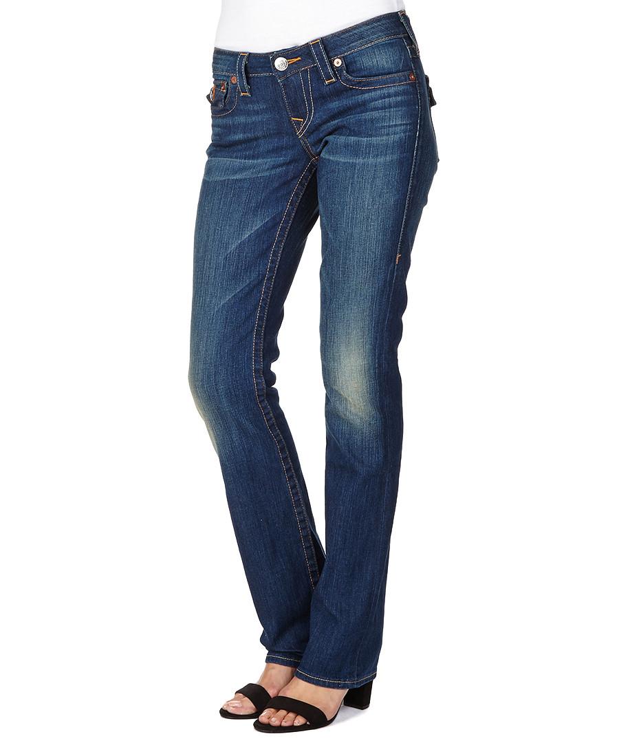 true religion wendy del mar straight leg jeans designer. Black Bedroom Furniture Sets. Home Design Ideas