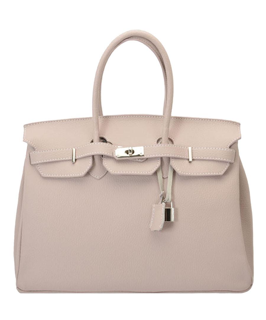 Amalia cream leather tote bag Sale - Nero Valentino