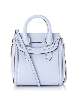 Light blue leather grab bag Sale - Alexander McQueen Sale