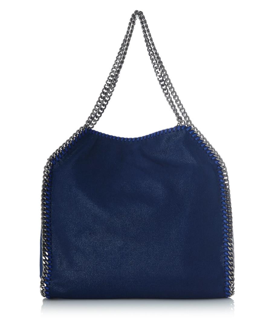 Stella McCartney Falabella medium electric blue tote bag ...