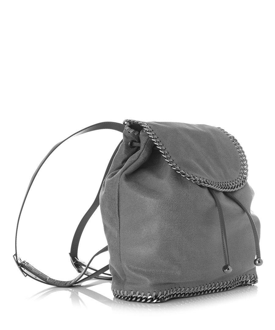 stella mccartney falabella grey rucksack designer bags sale stella mccartney handbags. Black Bedroom Furniture Sets. Home Design Ideas