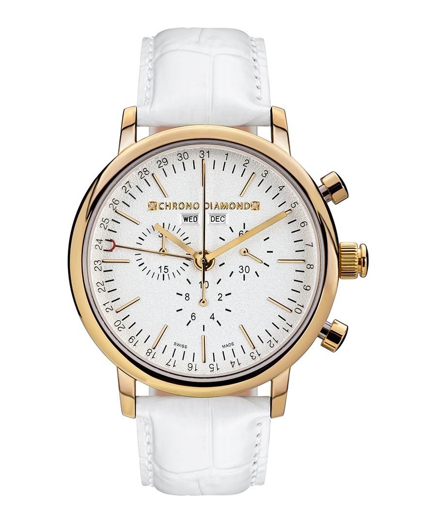 argos white leather sale chrono
