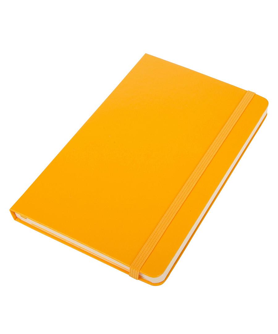 Moleskine yellow 18m turntable diary amp notebook designer homeware