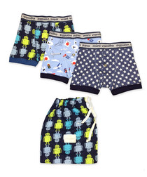 Boy's 2 10y cotton boxer short pack