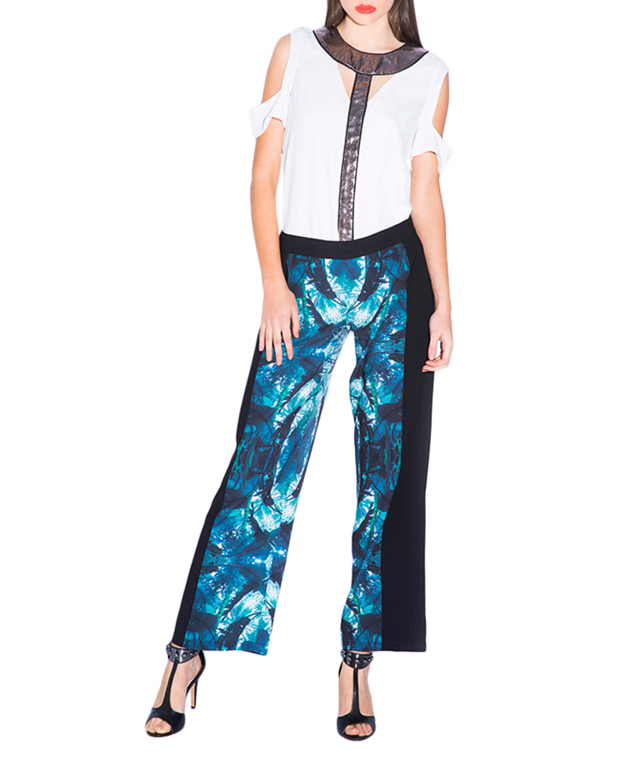 Placement Trousers Placement Print Trousers