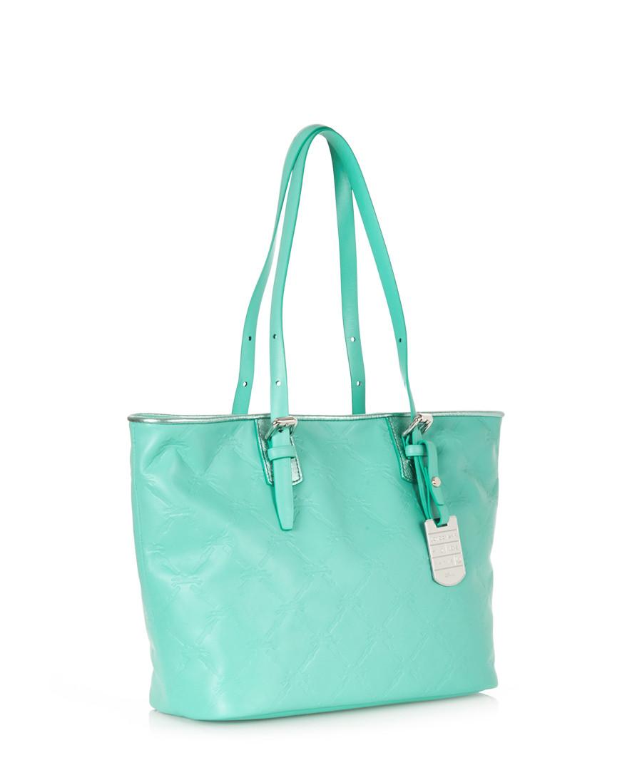 longchamp mint blue embossed leather shoulder bag designer bags sale longchamp handbags. Black Bedroom Furniture Sets. Home Design Ideas