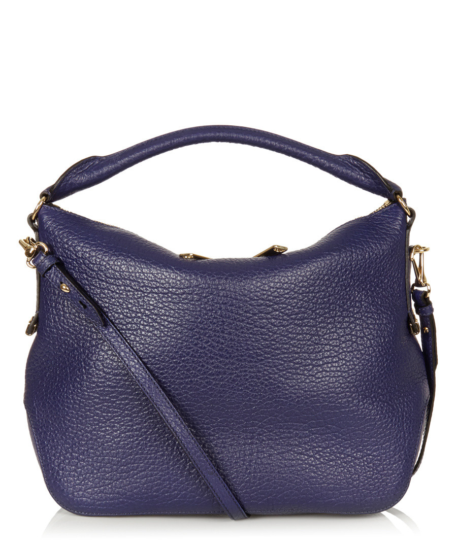 Home Burberry Handbags  Accessories Cobalt blue leather shoulder bag