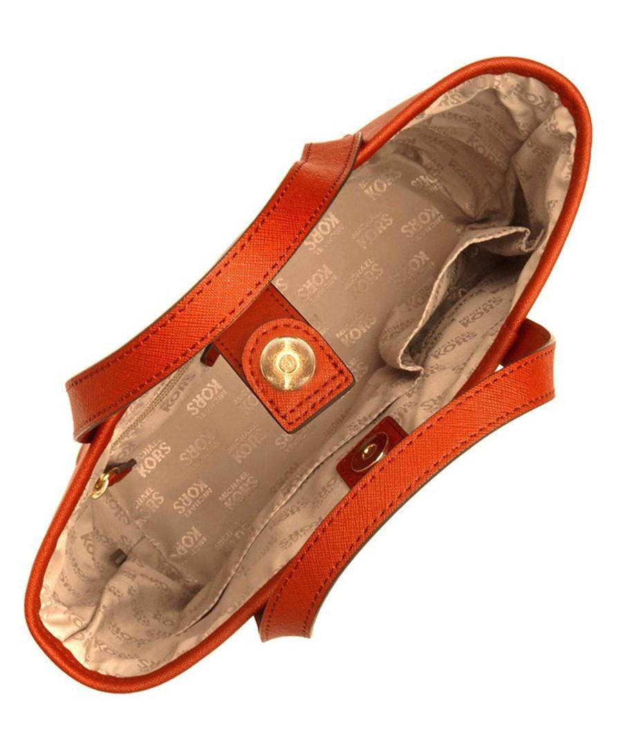 michael kors xs jet set orange leather travel tote designer bags sale michael kors handbags. Black Bedroom Furniture Sets. Home Design Ideas