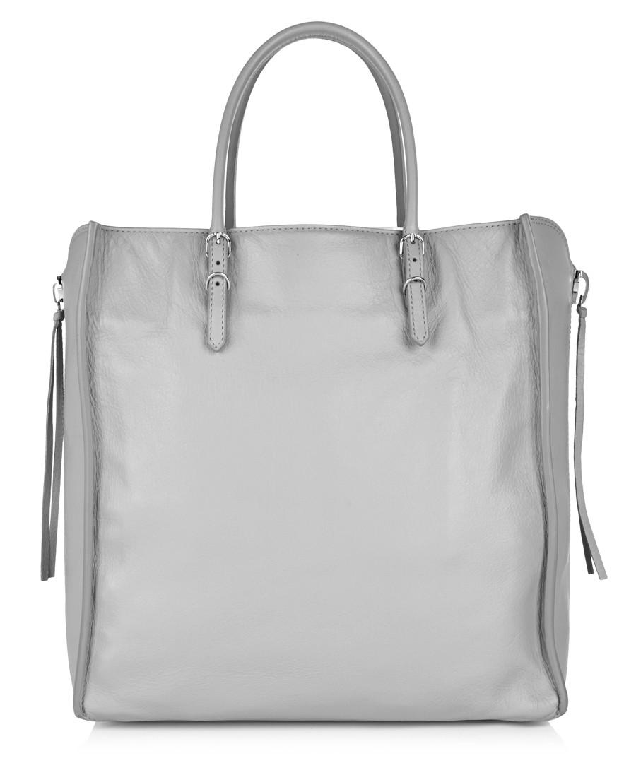 balenciaga grey leather shopper designer bags sale balenciaga handbags secretsales. Black Bedroom Furniture Sets. Home Design Ideas