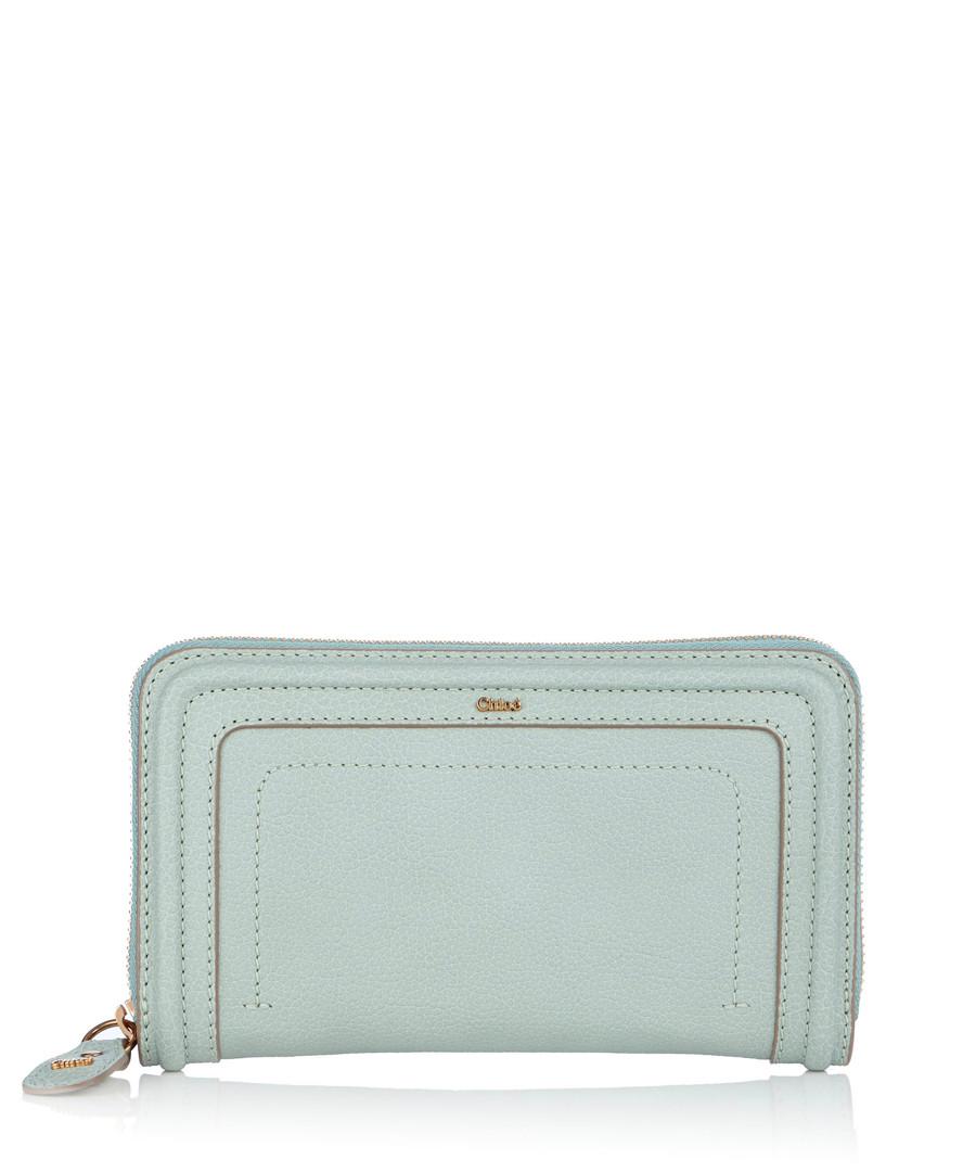 Duck egg blue leather purse Sale - Chloé