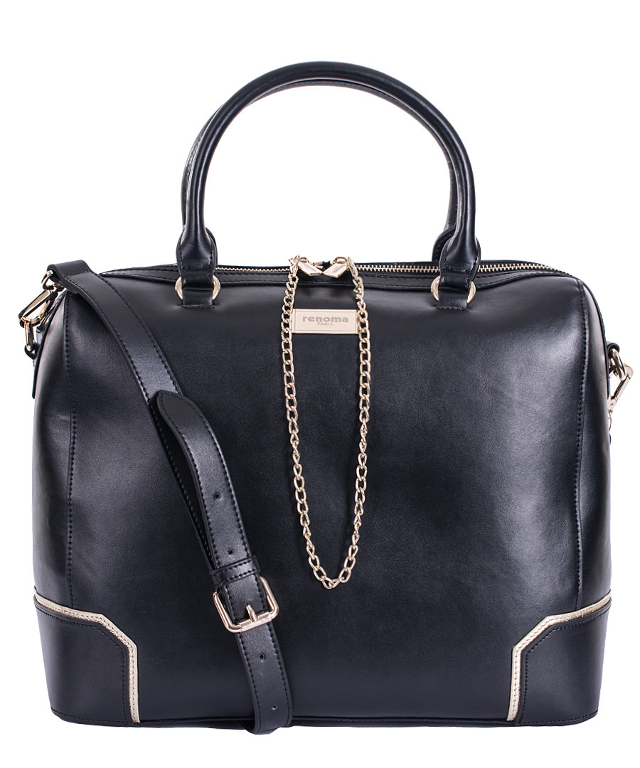 The Cuyana Tall Structured Leather Tote carries everything you need—and more. Crafted from Italian pebbled leather with microsuede lining, the structured shape is spacious enough to hold your 15'' laptop, a change of clothes—even your go-to lunch.