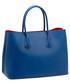Cornflower blue saffiano leather tote Sale - Prada Sale
