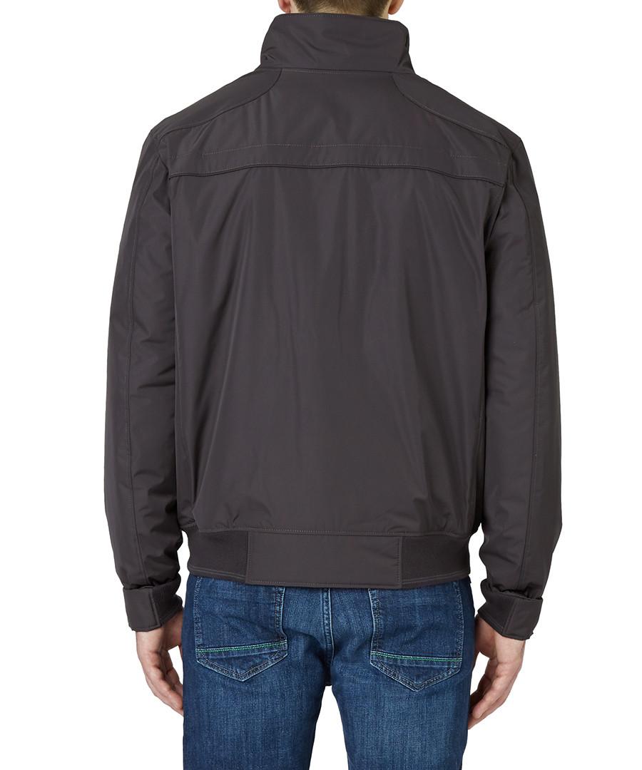 hugo boss jadon black zipped jacket designer jackets sale hugo boss for men secretsales. Black Bedroom Furniture Sets. Home Design Ideas