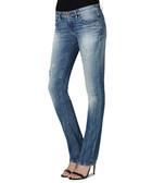 Women's MyBoy blue pure cotton jeans