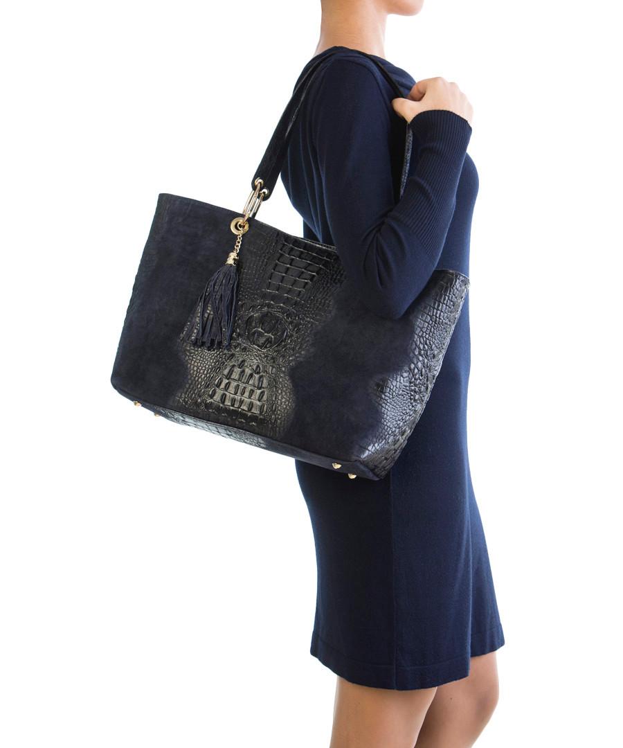 ... 01s mila blu blue leather tassel shoulder bag £ 75 00 £ 245 00 69