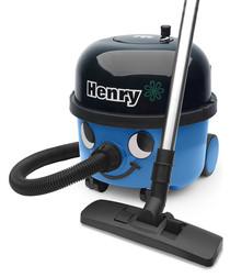 Henry blue vacuum cleaner