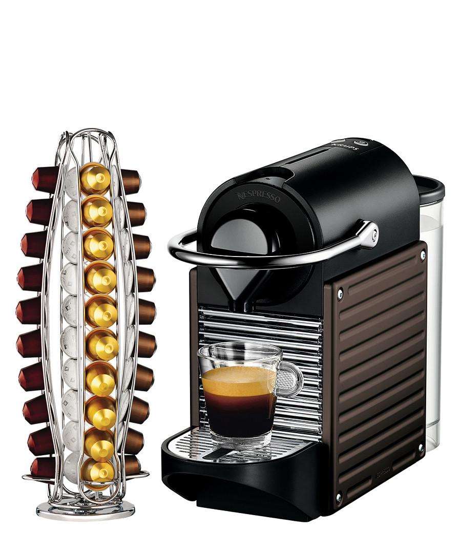 Nespresso pixie xn3008 with capsule holder designer homeware sale today s steal nespresso - Point collecte capsule nespresso ...