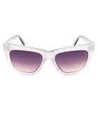 Celina lilac & smoke sunglasses