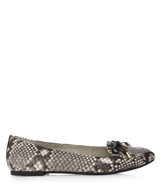 michael kors clothes outlet online dxtb  Fulton snakeskin leather pointed shoes Sale