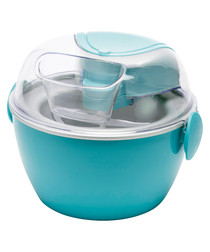 Vintage blue ice cream maker