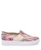 Croe multi-coloured leather sneakers