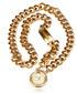 Medallion chain gold-tone belt  Sale - Vintage Chanel  Sale