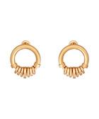 Freya gold-tone earrings