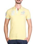 Banana cotton blend number polo shirt